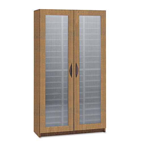 Safco Frosted Door Literature Organizer SAF9355MO, Oak (UPC:073555935509)