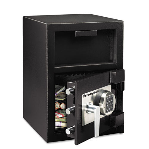 "Sentry_SentrySafe DH-109E Security Safe 1.30 ft³ - Electronic - 24"" x 14"" x 15.60"" - Black_	 - 1"