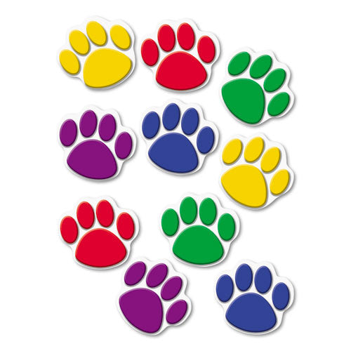 Teacher Created Resources Colorful Paw Prints Accent ; (088231941149)