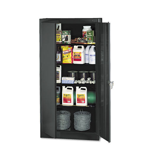 Tennsco Standard Black Storage Cabinet TNN1470BK, Black (UPC:940356182602)