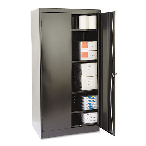 Tennsco Standard Black Storage Cabinet TNN1480BK, Black (UPC:044767101624)