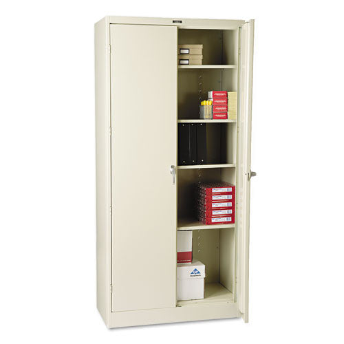 Tennsco Heavy-Gauge Steel Storage Cabinet TNN1870PY, Putty (UPC:044767110367)