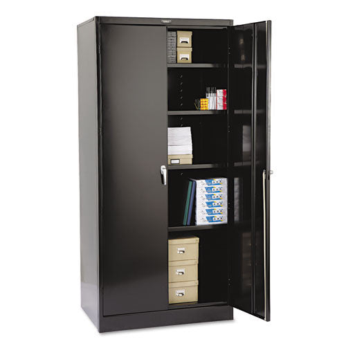 Tennsco Storage Cabinet (Unassembled) 2470 TNN2470BK, Black (UPC:044767100153)