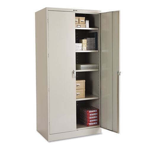 Tennsco Storage Cabinet (Unassembled) 2470 TNN2470LGY, Gray (UPC:044767109934)