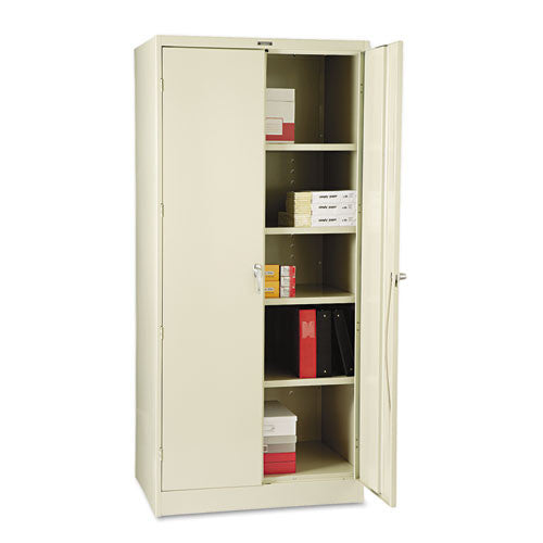 Tennsco Storage Cabinet (Unassembled) 2470 TNN2470PY, Putty (UPC:044767110374)