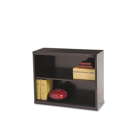 Tennsco Welded Bookcase TNNB30BK, Black (UPC:047671010563)