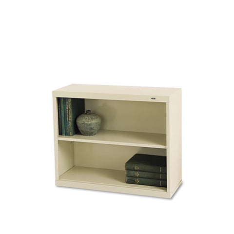 Tennsco Welded Bookcase TNNB30PY, Putty (UPC:447671100415)