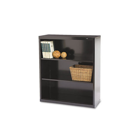Tennsco Welded Bookcase TNNB42BK, Black (UPC:047671006153)
