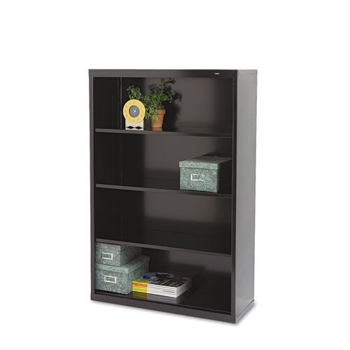 Tennsco Welded Bookcase TNNB53BK, Black (UPC:047671006085)