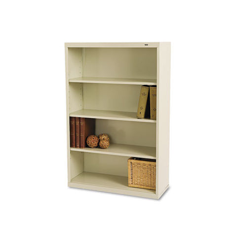 Tennsco Welded Bookcase TNNB53PY, Putty (UPC:447671100651)