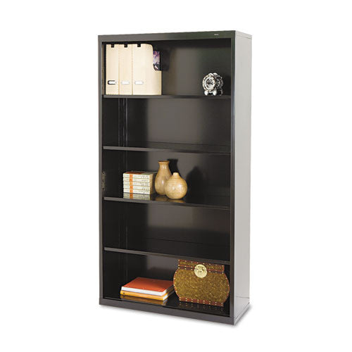 Tennsco Welded Bookcase TNNB66BK, Black (UPC:047671010945)