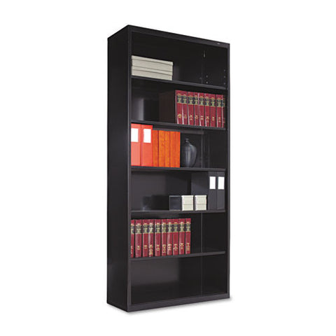 Tennsco Welded Bookcase TNNB78BK, Black (UPC:044767101389)
