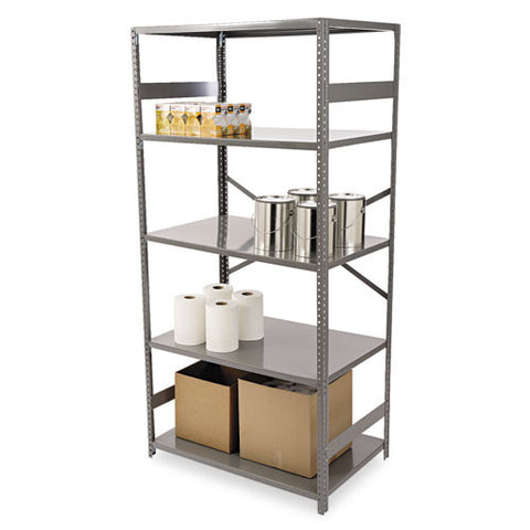 Tennsco ESP Commercial Shelving TNNESP2436MGY, Gray (UPC:447671097005)