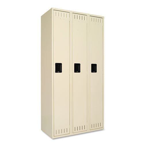 Tennsco Single-Tier Locker TNNSTS121872CSD, Green (UPC:447671025725)