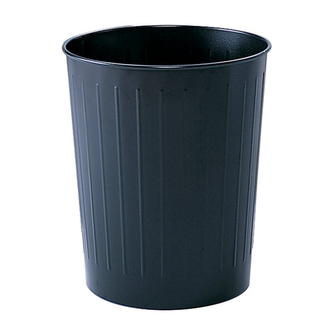 Safco Products Round Wastebasket, 23-1/2 Qt. (Qty. 6) 9604BL(Image 2)