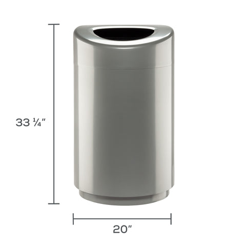 Safco Products Open Top Receptacle - 30 Gallon 9920SL Image 3