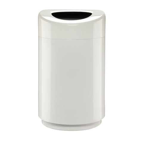 Safco Products Open Top Receptacle - 30 Gallon 9920WH Image 1