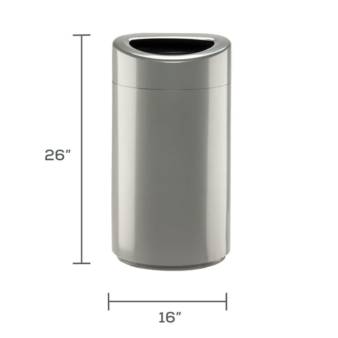 Safco Products Open Top Receptacle 14 Gallon 9921SL Image 3