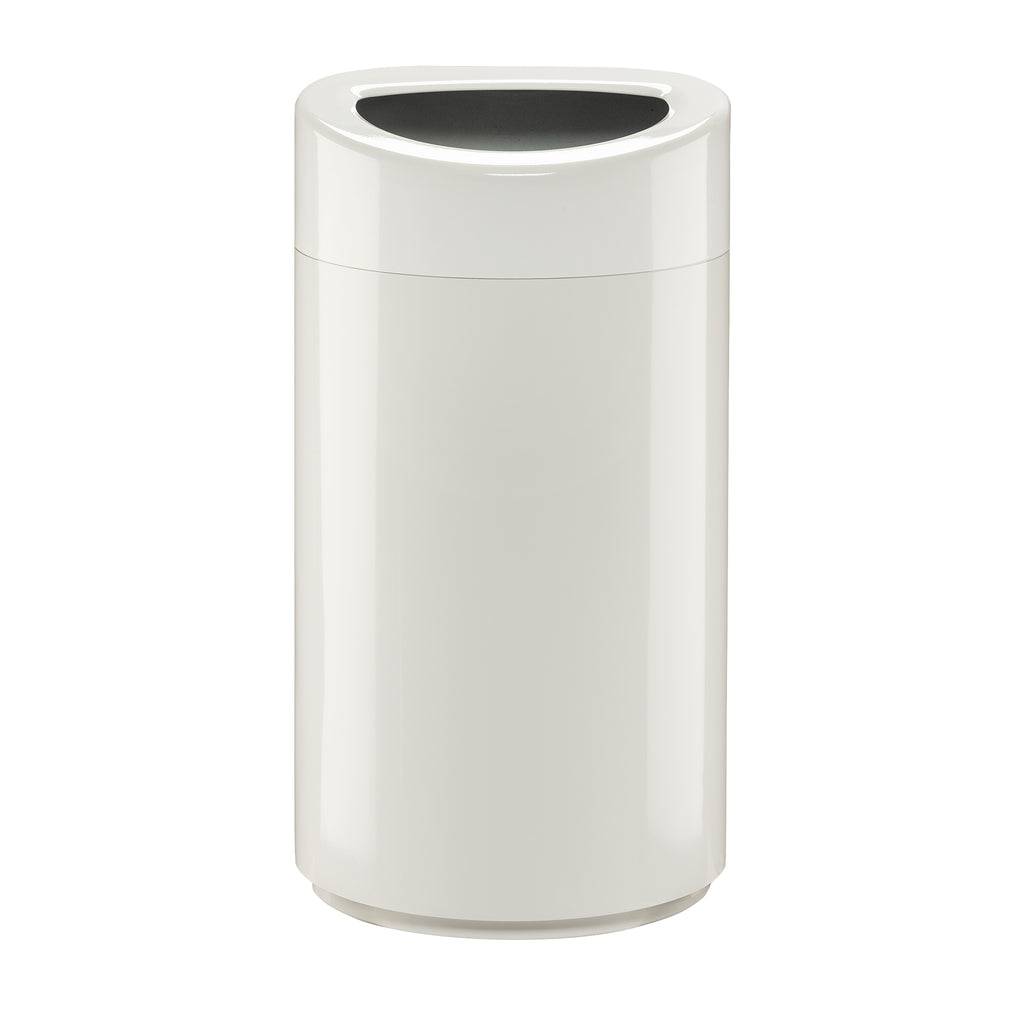 Safco Products Open Top Receptacle 14 Gallon 9921WH Image 1