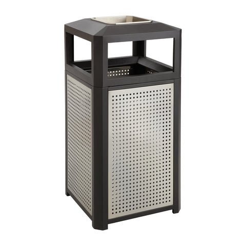 Safco Products Evos Series Steel w/ Ash, 15 Gal 9933BL(Image 1)