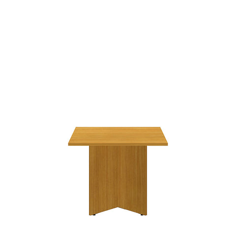 Bush Business Furniture 36 Square Conference Table with Wood Base in Modern Cherry ; UPC:042976517793 ; Image 2