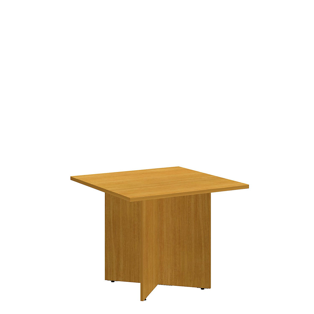 Bush Business Furniture 36 Square Conference Table with Wood Base in Modern Cherry ; UPC:042976517793 ; Image 1