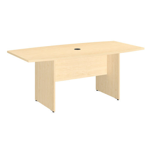 Bush BBF Conference Tables 72L x 36W Conference Table, Natural Maple 99TB7236AC ; UPC: 042976517861 ; Image 1