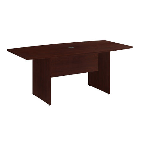 Bush BBF Conference Tables 72L x 36W Conference Table, Harvest Cherry 99TB7236CS ; UPC: 042976517878 ; Image 1