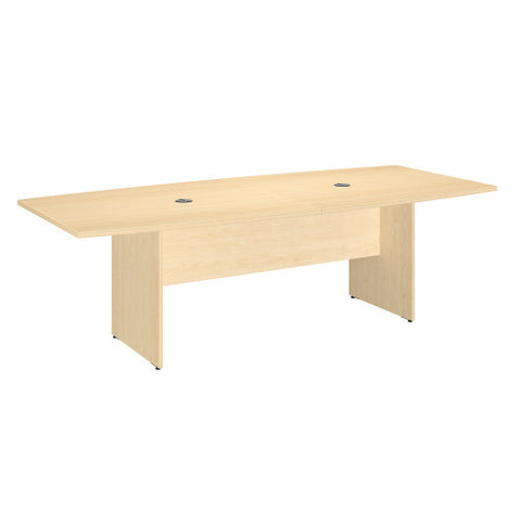 Bush BBF Conference Tables 96L x 42W Conference Table Kit - Wood Base, Natural Maple 99TB9642ACK ; UPC: 042976600020 ; Image 1