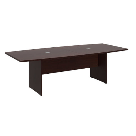 Bush BBF Conference Tables 96L x 42W Conference Table Kit - Wood Base, Harvest Cherry 99TB9642CSK ; UPC: 042976600037 ; Image 1