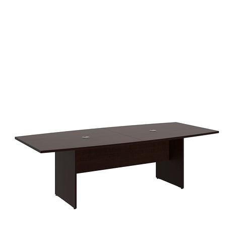 Bush BBF Conference Tables 96L x 42W Conference Table Kit - Wood Base, Mocha Cherry 99TB9642MRK ; UPC: 042976600051 ; Image 5