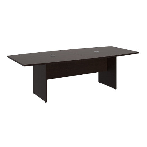 Bush BBF Conference Tables 96L x 42W Conference Table Kit - Wood Base, Mocha Cherry 99TB9642MRK ; UPC: 042976600051 ; Image 1
