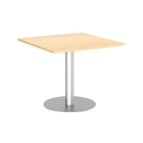Bush BBF Conference Tables 36 in Square Conference Table Kit, Metal Disc Base, Natural Maple 99TBD36SACSVK ; UPC: 042976518011 ; Image 1
