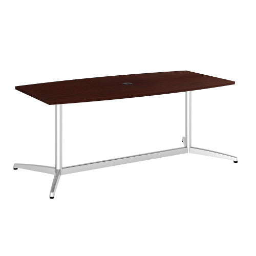 Bush BBF Conference Tables 72L x 36W Conference Table kit - Metal Base, Harvest Cherry 99TBM72CSSVK ; UPC: 042976529024 ; Image 1