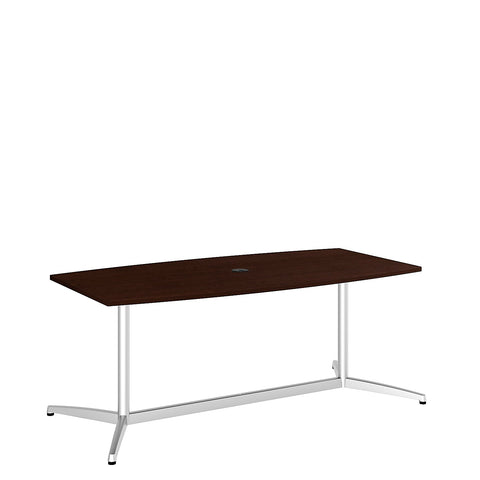 Bush BBF Conference Tables 72L x 36W Conference Table kit - Metal Base, Mocha Cherry 99TBM72MRSVK ; UPC: 042976504892 ; Image 5