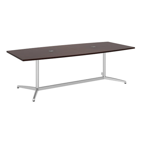 Bush BBF Conference Tables 96L x 42W Conference Table Kit - Metal Base, Harvest Cherry 99TBM96CSSVK ; UPC: 042976529086 ; Image 1