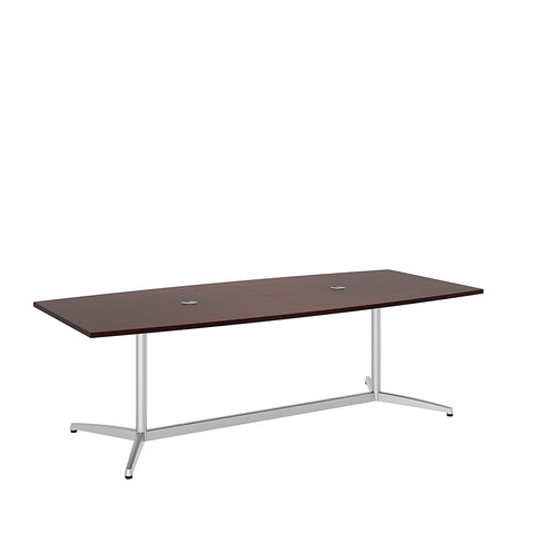 Bush BBF Conference Tables 96L x 42W Conference Table Kit - Metal Base, Harvest Cherry 99TBM96CSSVK ; UPC: 042976529086 ; Image 5