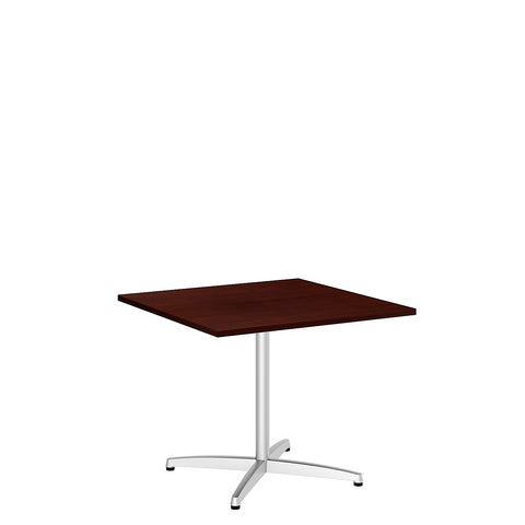 Bush BBF Conference Tables 36 Inch Square Conference Table Kit - Metal X Base, Harvest Cherry 99TBX36SCSSVK ; UPC: 042976529147 ; Image 5