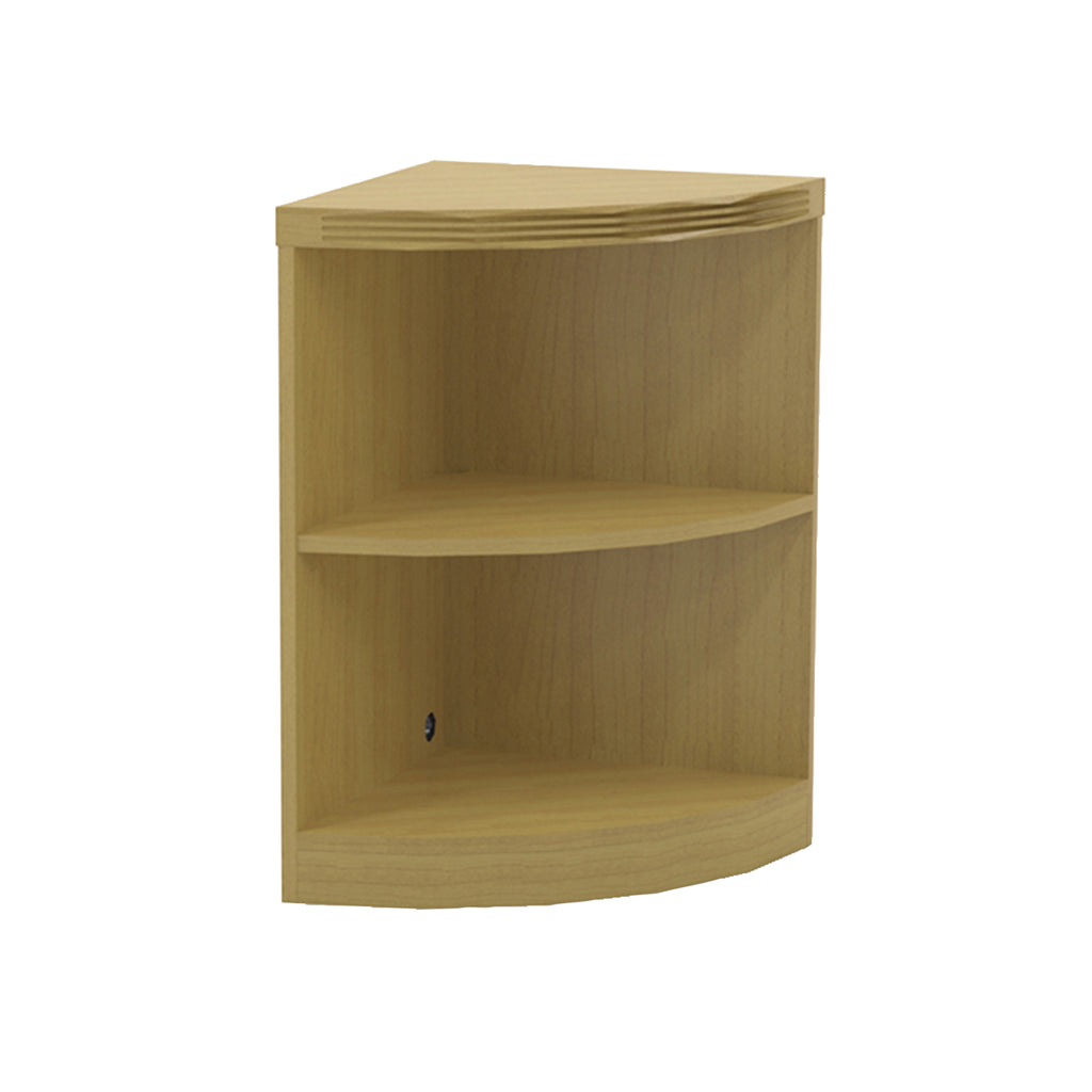 Safco Products Aberdeen Series 2-Shelf, Quarter-Round Bookcase ABQ2LMA(Image 1)