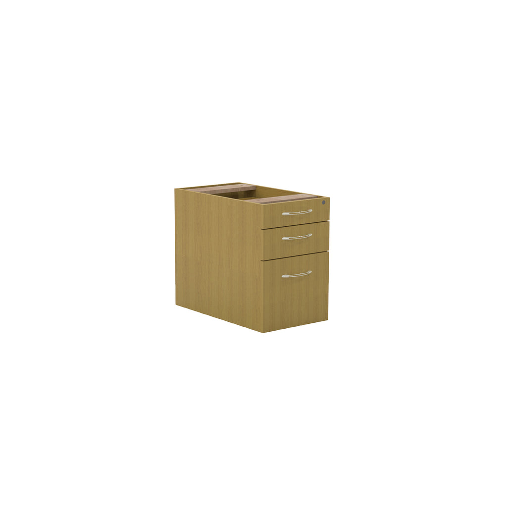 Safco Products Aberdeen Series Credenza Pedestal, Pencil/Box/File APBF20LMA(Image 1)