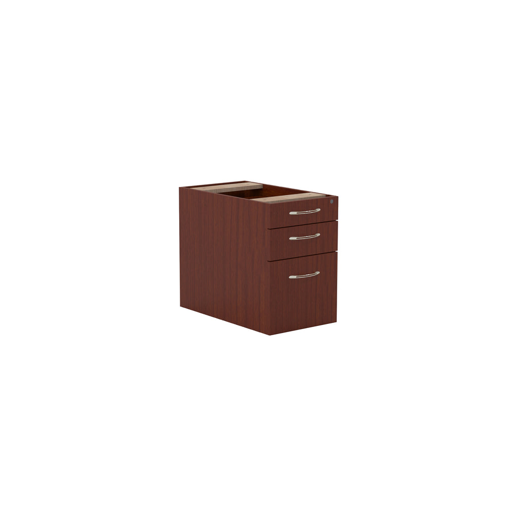 Safco Products Aberdeen Series Desk Pedestal, Pencil/Box/File APBF26LCR(Image 1)