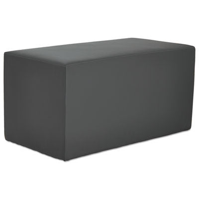 Alera WE Series Collaboration Seating; Rectangle bench, slate, ALEWE37ST,  (UPC:042167392918)