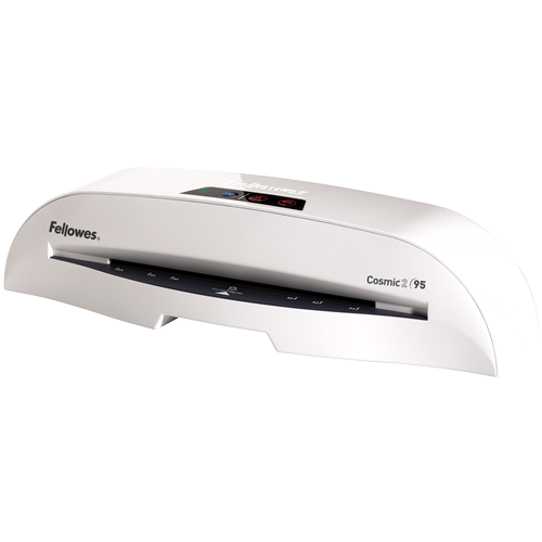 Fellowes Cosmic2 95 Laminator with Pouch Starter Kit ; UPC 043859609895
