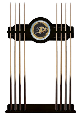 Anaheim Ducks Cue Rack in Black Finish by Holland Bar Stool; UPC: 071235435905