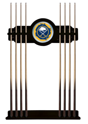Buffalo Sabres Cue Rack in Black Finish by Holland Bar Stool; UPC: 071235435936
