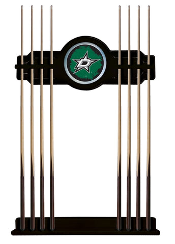 Dallas Stars Cue Rack in Black Finish by Holland Bar Stool; UPC: 071235435998