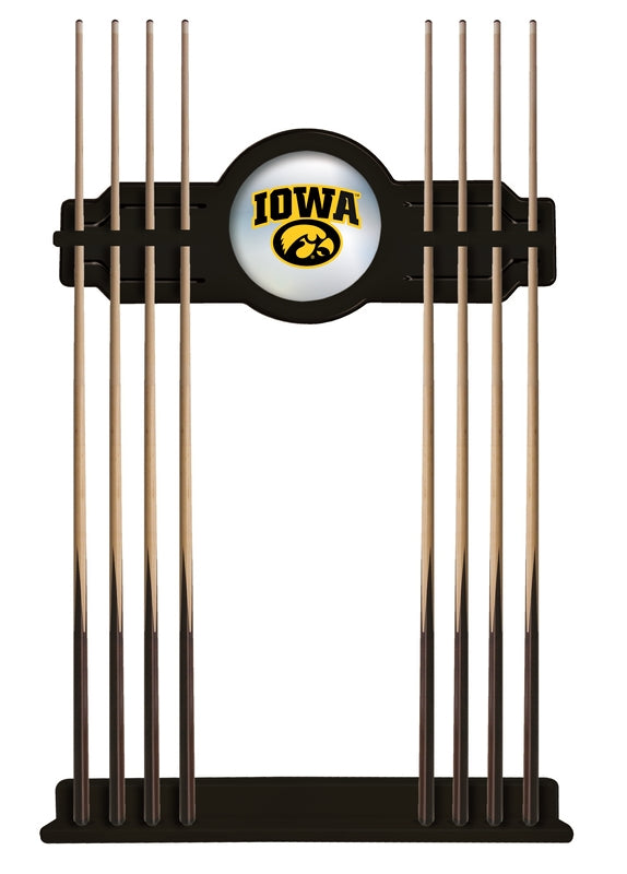 Iowa Cue Rack in Black Finish by Holland Bar Stool; UPC: 071235430801