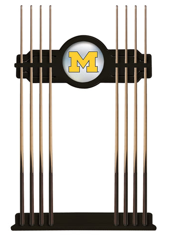 Michigan Cue Rack in Black Finish by Holland Bar Stool; UPC: 071235430955