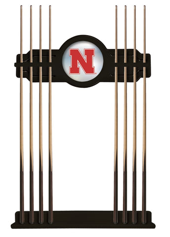 Nebraska Cue Rack in Black Finish by Holland Bar Stool; UPC: 071235431112
