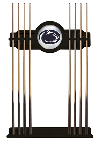 Penn State Cue Rack in Black Finish by Holland Bar Stool; UPC: 071235431242